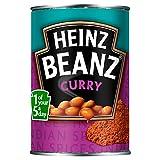 Heinz Beanz Curry 390g - Gebackene Bohnen in Currysauce