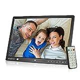 'Andoer 15Rahmen Foto Digital-Bildschirm LED Album Desktop 1280* 800HD Musik/Video/eBook/Uhr/Kalender mit Bewegungsmelder-Sensor-Touch-Tasten-Fernbedienung