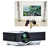 Unic UC40 Ultra HD 1080p Home Theater Projector with HDMI, AV, USB