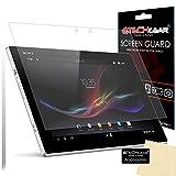 Techgear [Pack 2] Sony Xperia Z2 Tablet Matt/ANTI-GLARE Covers Displayschutzfolie mit Reinigungstuch
