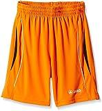 JAKO Kinder Shorts Sporthose Wembley, Neon Orange/Schwarz, 1, 4460