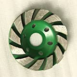 Latinaric 100mm Diamant Schleiftopf Beton Schalen Rad Disc Betonmauerstein Trennscheibe - 8