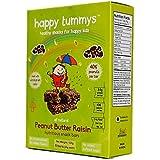 Happy Tummys Peanut Butter Raisin Bars(Pack of 5)