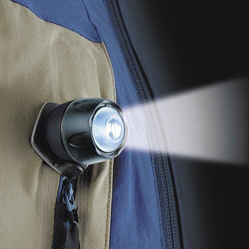 LiteXpress Liberty 105 schwarz, Kopflampe/Stirnlampe, 1 LED Nichia ø 5mm (Standard), Clip - 4