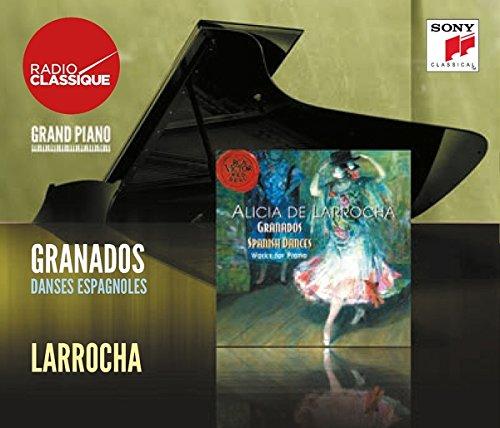 Granados: Danses Espagnoles, Valses Poétiques - Larrocha