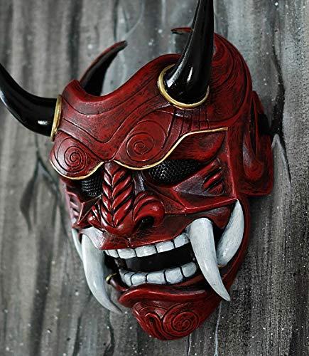 Japanisch Samurai Krieger Assassin Maske Vollständig Tragbar Airsoft Fertig Kostüm