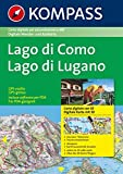 Carta digitale Italia n. 4091. Lago di Como, lago di Lugano digital map. Con 3 DVD-ROM