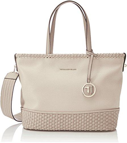 Trussardi Jeans Mimosa Smooth Ecoleather Tote Bag, Cabas