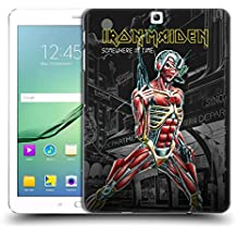 Official Iron Maiden Somewhere Album Covers Hard Back Case for Samsung Galaxy Tab S2 9.7