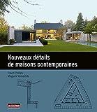 Nouveaux détails de maisons contemporaines