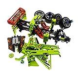 Bausteine gebraucht 1 x Lego Technic Teile Set Modell Power Racers 8649 Nitro Menace Lime grün rot Rennauto Sport Wagen Auto Technik Incomplete unvollständig