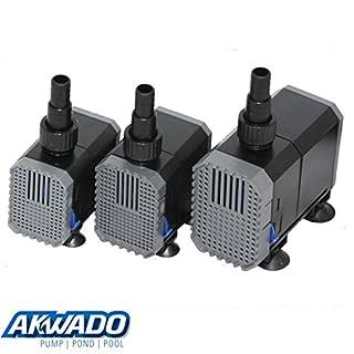 AKWADO regulierbare Aquariumpumpe 7W - 80W 500 L/h