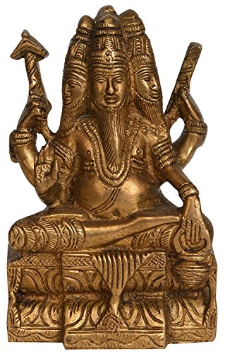 Exotic India Bhagawan Brahma Statue