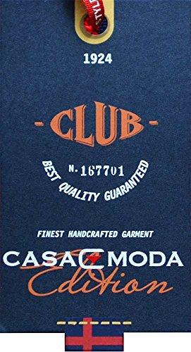 CasaModa - Herren Freizeit Hemd kurzarm, blau türkis, kariert, Casual-Fit blau türkis