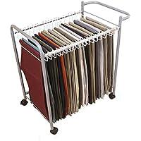 Pantaloni multistrato di archiviazione mobile rack Pantaloni Sciarpa Stand