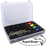 Angel Berger Bite Indikator 4 Stück mit Koffer