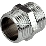 """1/2"""" INCH THREAD PIPE CONNECTION MALE x MALE SCREWED NIPPLE"""