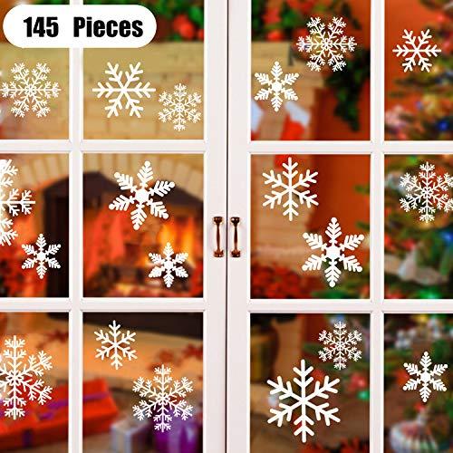 ASANMU Pegatina Copo de Nieve de la Navidad