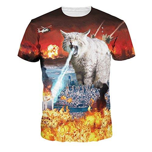 Wiboyeu -  T-shirt - Uomo picture color XXL=EU XL