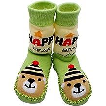 Tokkids - Pantuflas estilo mocasín con calcetines, Calcetines para bebé - 12-24 meses