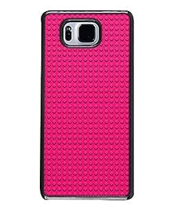 PrintVisa Designer Back Case Cover for Samsung Galaxy Alpha :: Samsung Galaxy Alpha S801 :: Samsung Galaxy Alpha G850F G850T G850M G850Fq G850Y G850A G850W G8508S :: Samsung Galaxy Alfa (Made For Girls Love Pink colour)