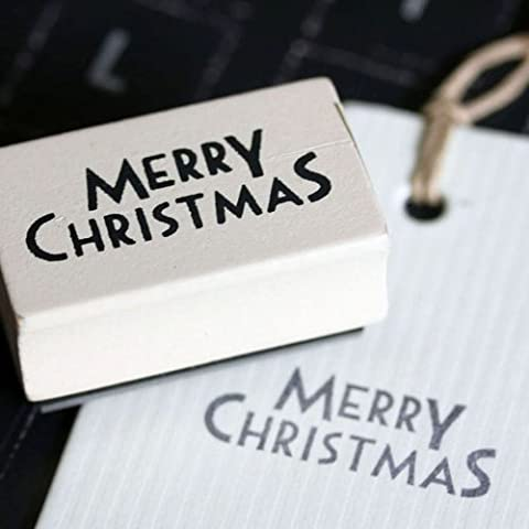 Merry Christmas Crafting Stamp by East of India