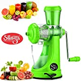 Juicers Best Deals - One Stop Shop Slings Fruits & Vegetable Juicer With Steel Handle (Color May Vary)