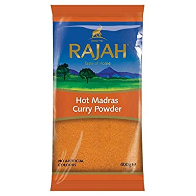 Rajah Hot Madras Curry Powder, 400 g from Rajah