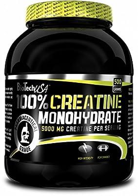 100% Creatine Monohydrate - pure creatine monohydrate - BiotechUSA