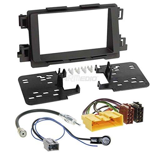 2/DIN Autoleads DFP-26-01 Radioblende f/ür Mazda/3 erm/öglicht Verwendung des Displays