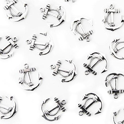 Mini Anker | 24 Stück, silber