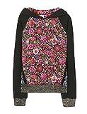 Desigual Mädchen Sweatshirt Sweat_Grebe, Schwarz (Negro 2000), 152 (Herstellergröße: 11/12)