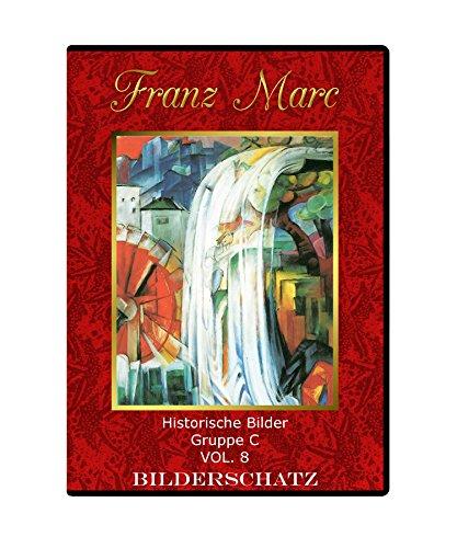 Künstler-kunst-druck (Bilderschatz Franz Marc - seine Gemälde auf einer Daten-CD für Web und Druck)
