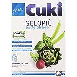 Cuki–Sacs congélation gelopiù, grand format (29x 42cm)–3boîtes de 15pièces [45pièces]