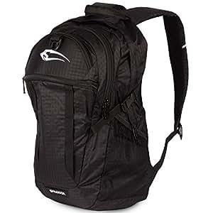 SMILODOX Leichter Rucksack für Sport Fitness Training & Freizeit | Ultraleicht - ideal für Schule, Uni, Reisen, Outdoor & Laptop | Sportrucksack - Schultasche, Farbe:Black/Black