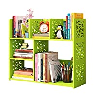 Liuhoulin Small bookshelf desktop bookcase student simple rack small office children storage rack