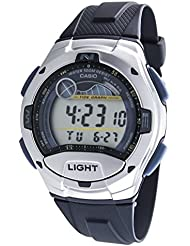Casio - Homme - W-753-2A - Sports - Quartz Digital LCD - Cadran Multicolor - Bleu - Résine
