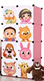 KID WARDROBE CUPBOARD ALMIRAH P-1 CARTOON DOOR PLATE/ Polypropylene Plastic Sheet (36 Micron)