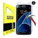 [[3-Pack] Samsung Galaxy S7 Protecteur D'écran, Hycamor Screen Protector pour écran Galaxy S7 HD en Verre Trempé Protecteur en Verre Trempé Film Protecteur Anti-rayures pour Galaxy S7 clair