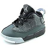 Nike Kleinkinder Air Dub Zero (TD) Schwarz / Wei? / Clssc Chrcl / Wlf Gry Basketball-Schuh 6 Kleinkinder US