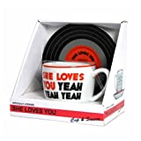 The Beatles - She Loves You Mug And Saucer Set