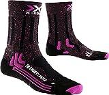 X-Socks Damen Trekking Light Lady Socken, Pink/Black, 39/40