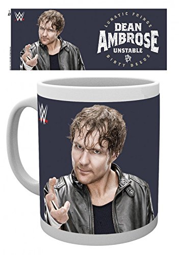 Wrestling - WWE, Dean Ambrose Unstable Tazza Da Caffè Mug (9 x 8cm)