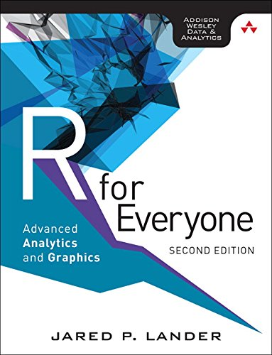 R for Everyone (Addison Wesley data & analytics series) por Jared P. Lander