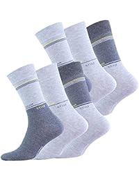 """Lot de 6 paires de chaussettes - coton et élasthanne, """"URBAN STYLE"""" - homme, origine de Vincent Creation®"""