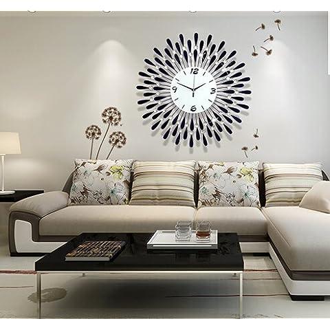 CNMKLM promozione orologi orologio da parete grande per giardino Watch orologio da parete di moda europea decorazione #8