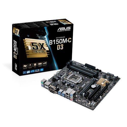 Quick Intel Sync (Asus B150M-C D3 Mainboard Sockel 1151 (µATX, Intel B150, 4x DDR3 Speicher, 6x SATA 6Gb/s, 4x USB 3.0, 2x USB 2.0, PCIe 3.0))