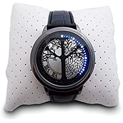 LED Watch Futuristic Touch, Touch Sensitive, Tree Design