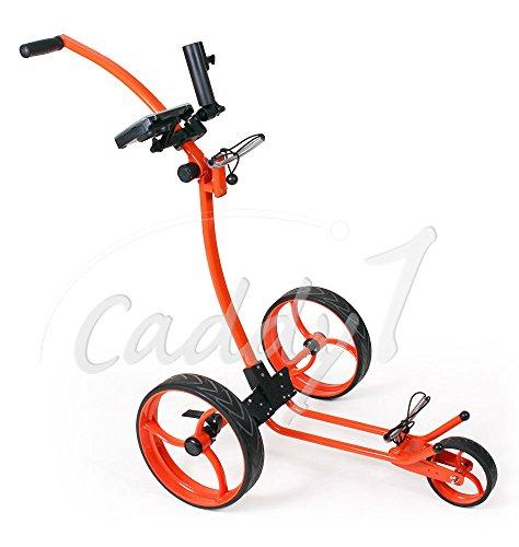 Design Golf Trolley CADDYONE 110 in Orange