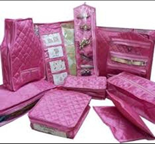 Neysa Satin Material Full Wedding or Dulhan Set ( Set of 11...